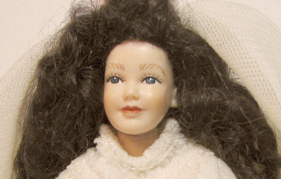 DOLLHOUSE Bride Dressed HOX104 Heidi Ott Wedding Lady Doll Joints Miniature