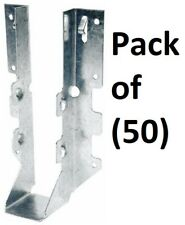 "50 Pk Simpson Strong-Tie 6-5//8/"" High Galv Steel 18 Ga LUS Joist Hanger LUS28"