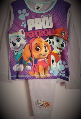 Paw Patrol Pyjamas Skye Everest Marshal Pjs Pink Girls Pj/'s Pyjama Set T2TC278