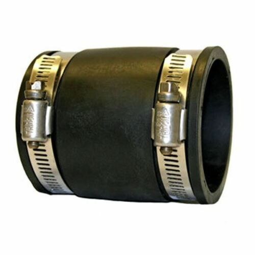 """Rubber Pipe Fittings 3/"""" Flexible Pond Connector Tee Elbow End Cap Reducer"""