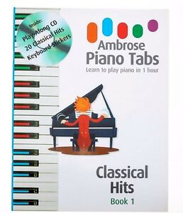 Details about Easy Classical Piano Keyboard Music Hits Adult +Children  Beginners Play Along CD