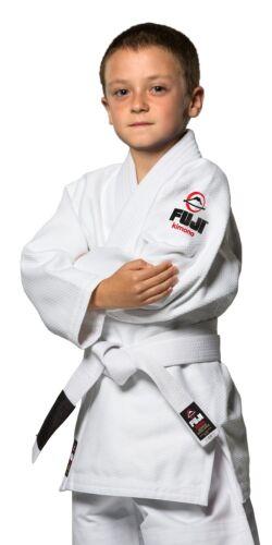 Fuji Kids Youth Childrens All Around Brazilian Jiu Jitsu Gi Jiu-Jitsu BJJ  White