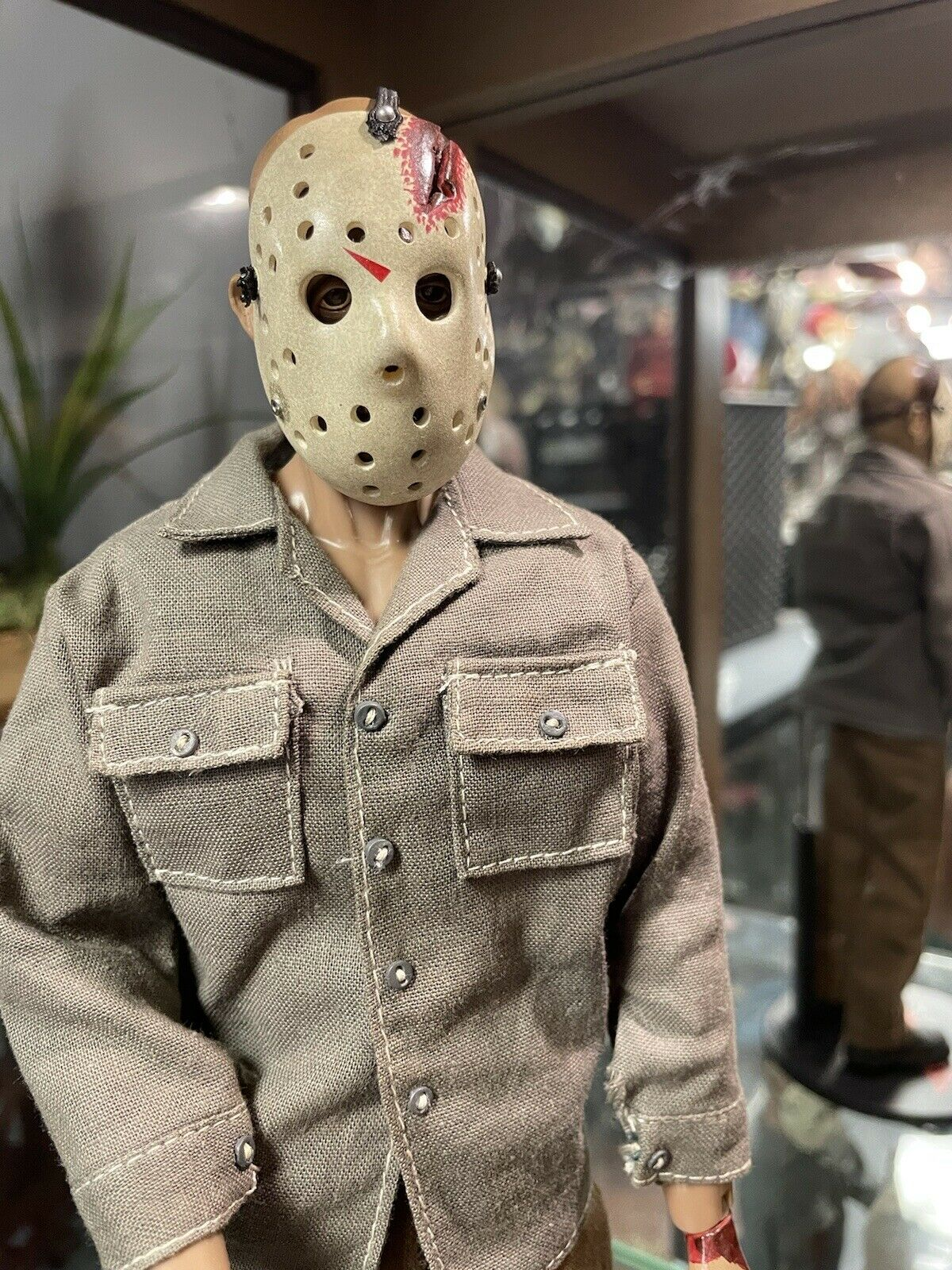 """Sideshow Jason Voorhees Friday The 13th Final Chapter 12"""" Action Figure on eBay thumbnail"""