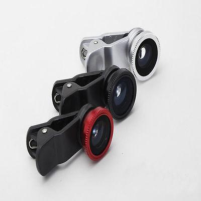 3x Phone Camera Fish Eye Wide Macro Lense For Mobile Phone Lens Universal
