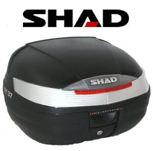 Coffre-Top-Case-SHAD-SH37-Moto-Scooter-50-125-maxi-Scoot-37-litres-NEUF-sh-37
