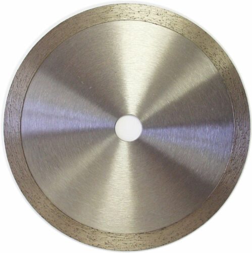 "6"" Continuous Rim Wet Dry Cutting Diamond Tile Blade"
