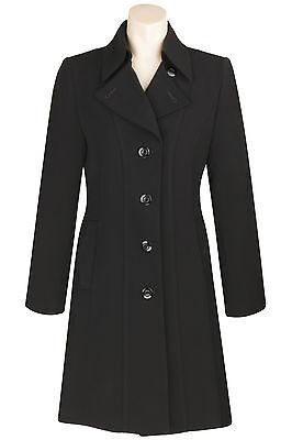 Busy Ladies Black 3/4 Trench Coat Mac