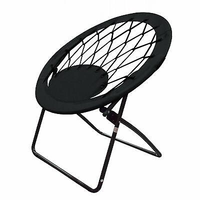 Phenomenal Folding Round Bungee Chair Steel Frame Outdoor Camping Hiking Garden Patio Ebay Caraccident5 Cool Chair Designs And Ideas Caraccident5Info