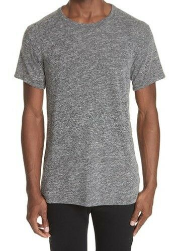 New JOHN ELLIOTT + CO Sz-5/XXL Knit grau MELANGE COTTON BLEND T-Shirt TEE