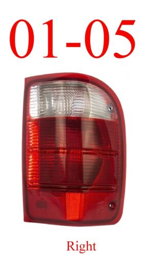 01 05 Ranger Right Tail Light 2WD Complete Assembly Ford FO2801156 4WD