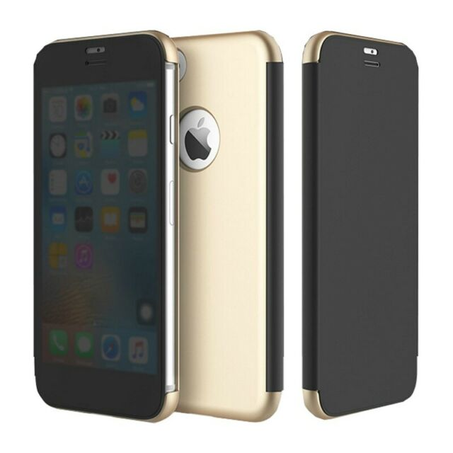 iPhone 7/7 Plus ROCK Dr.Vision Clear View Smart Case Flip Cover Protective Ca...