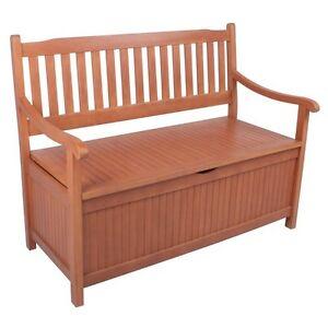 Storage Bench Wooden Furniture Outdoor