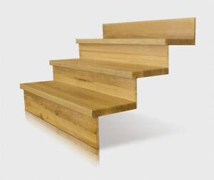 Treppe Setzstufe | Stufe 95x28x4cm Setzstufen Treppe Holztreppenstufen Holzbelage