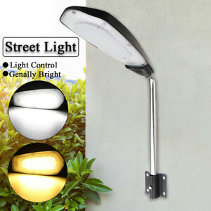 20W 48LED Street Light Dusk to Dawn Outdoor Garden Path Road Park Backyard