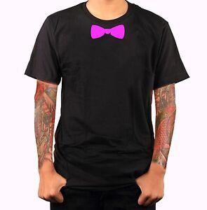 Fliege-Aufdruck-Krawatte-Anzug-fun-T-Shirt-Funshirt-JGA-Geschenk-Textildru-S486