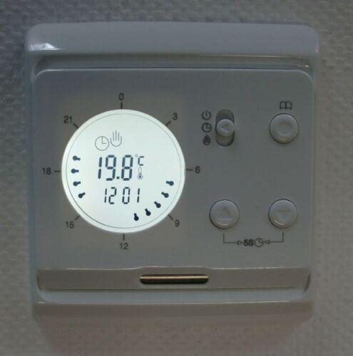 Digital Thermostat mit 24 Stunden Tagesprogrammierung #730