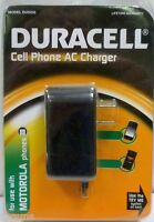 Duracell Du5205 Cell Phone Ac Charger Ie516 Motorola Factory Sealed Nip Wall