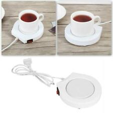 Electric Coffee Mug Warmer Heating Plate Tea Milk Cup Pad Heater Portable I8L6