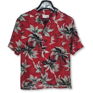 saint laurent paris hawaiian shirt