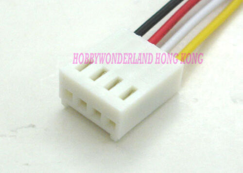 KF2510 2.54 4-Pin Female Housing Connector Plug Wire /& Male PCB HEADER 10 Ensembles