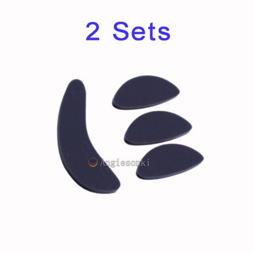 New 2 sets of Razer Logitech M570 gaming mouse feet// foot skates