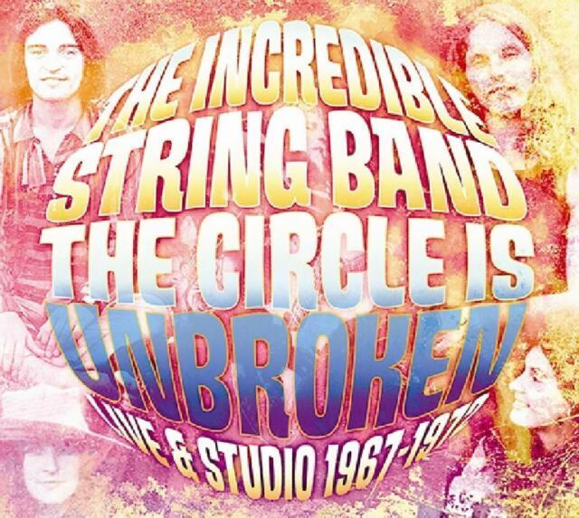 INCREDIBLE STRING BAND - THE CIRCLE IS BROKEN  2 CD NEU