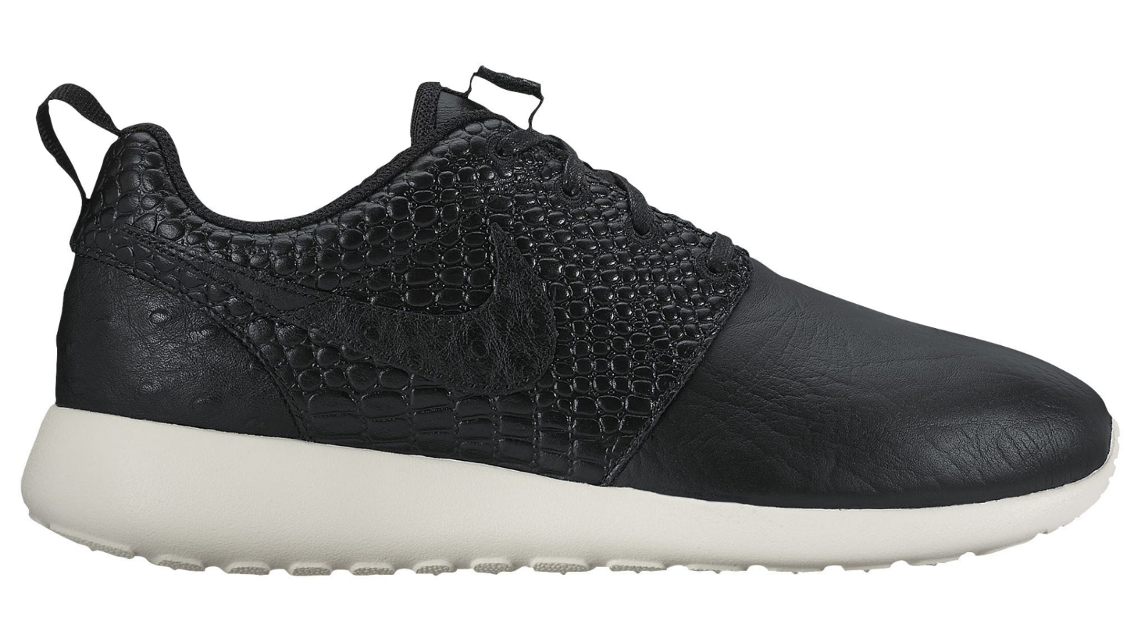 NIKE WMNS ROSHE ONE LX BLACK LEATHER IVORY Surprise Pack 881202-001 Damenschuhe 7.5