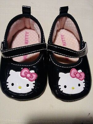 Hello Kitty Baby Infant Girls Pink Strap Shoes Sandals 0-6m 6-12m 12-18m NWT