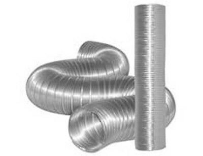 Dundas Jafine TDIDVKZW ProFlex Indoor Dryer Vent Kit with 4-Inch by 5-Foot ProFlex Duct 2 - Pack