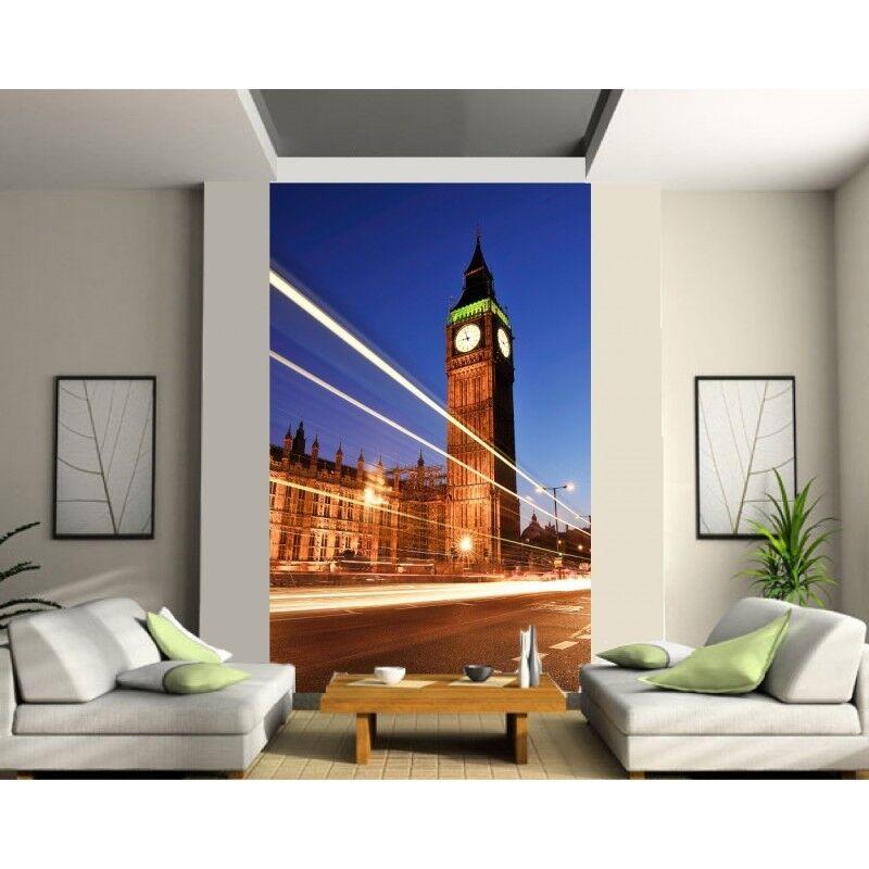 Sticker mural géant trompe l'oeil Londres 163