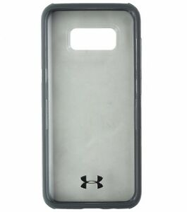 new style 3a1c8 14ace Details about Under Armour Verge Series Hybrid Case for Samsung Galaxy S8 -  Clear / Gray