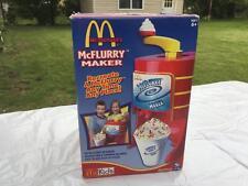 McKid's  MCDONALD'S McFlurry Maker Ice Cream Toy w Box Inst.
