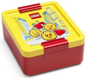 LEGO Iconic Girl RC 4052-1725 Iconic Lunchbox Brotdose Rot und Gelb