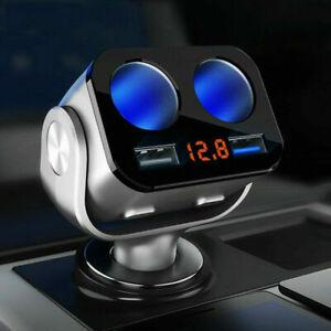 Hot-Car-Cigarette-Socket-2-Way-Lighter-Splitter-Charger-Power-Adapter-Dual-USB