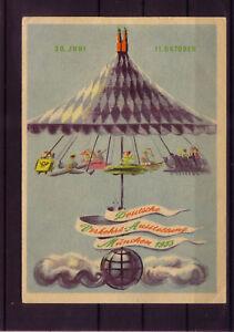RFA très belle Exposition transports carte avec MichelNr. 167-170 (document- 9242)-llungskarte mit Michelnr. 167-170 (beleg-9242) afficher le titre d`origine lxlQcqUD-07165129-530068154
