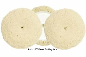 7-1//2 In Wool Buffing Pad