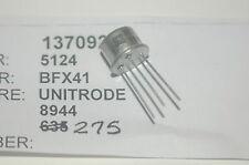 UNITRODE BFX41 Through Hole 6-Pin Transistor Lot Quantity-10