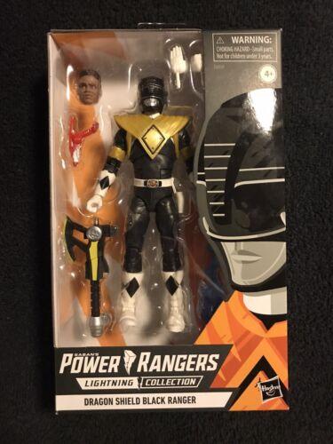 Hasbro Walgreens Exclusive Lightning Collection Dragon Shield Black Power Ranger