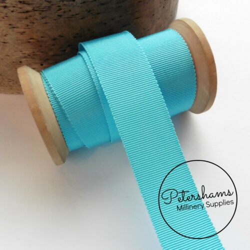 """25mm No.5 Petersham 1/"""" Wide Hat Ribbon for Millinery /& Hat Making 1m"""