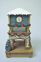 Hawthorne Village Train Station Accessory Collection clock Tower Dc Powered