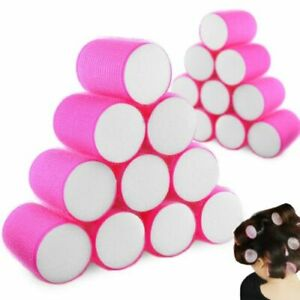 20 X Self Grip Hair Rollers Curls Waves Curling Styling