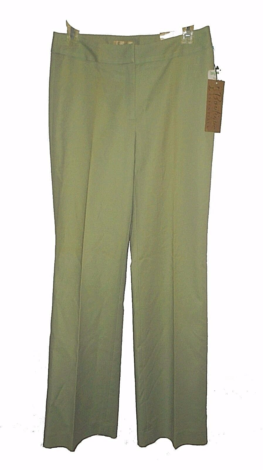 New Pants, Boutique Essentials, Cotton Stretch Loden-Grün MSRP- 89.00  2