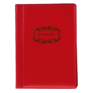 Porte-monnaie-de-120-pieces-Collection-Album-Portable-Penny-Pockets-Book
