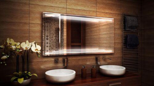 Design Miroir multi-MX NEUF ledspiegel Lumière Miroir Miroir de salle LED