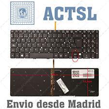 TECLADO ESPAÑOL para Acer Aspire V5-551G With Backlit Board
