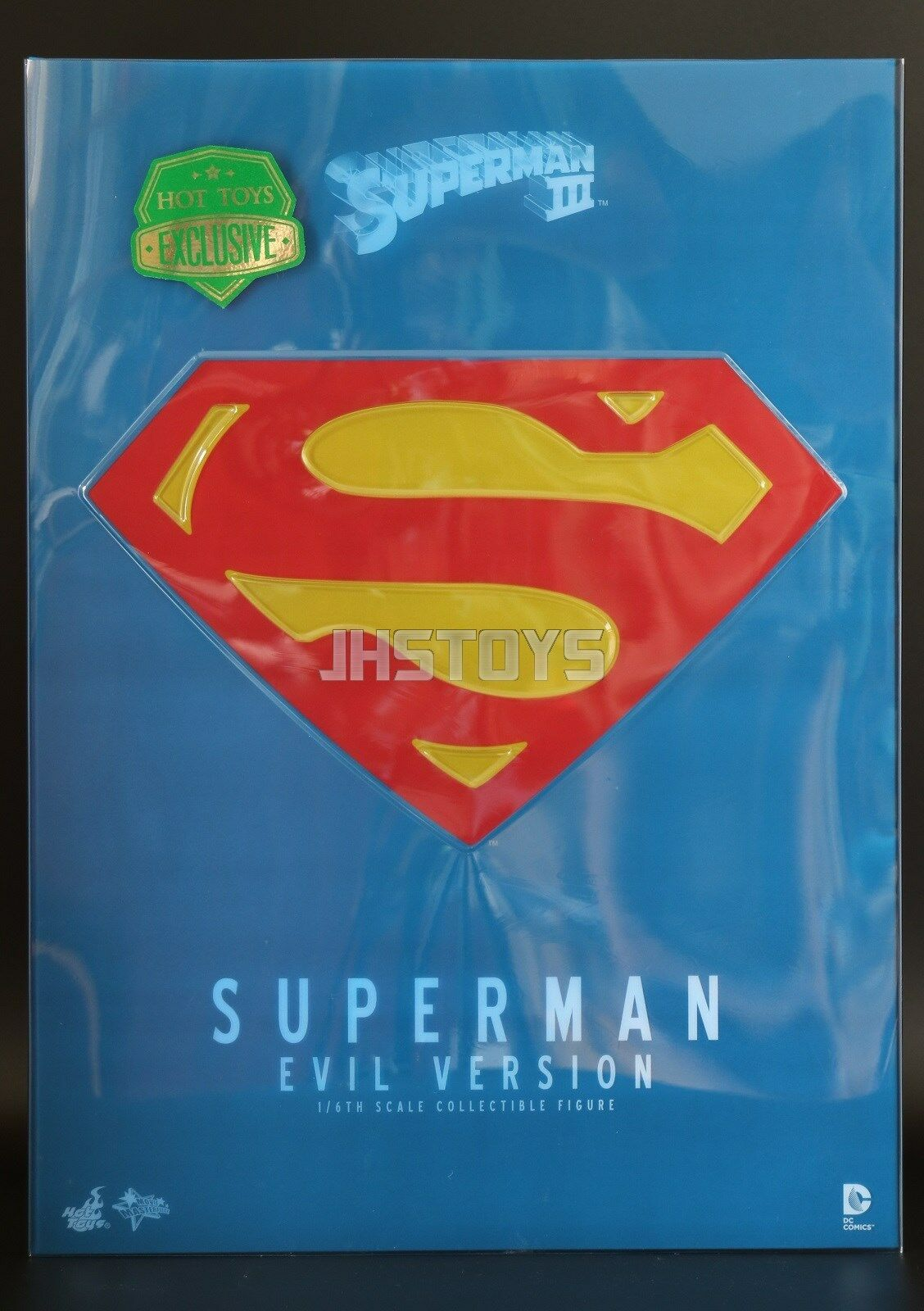Hot Toys 1 6 Superman 3 III Evil Version Christopher Reeves MMS207