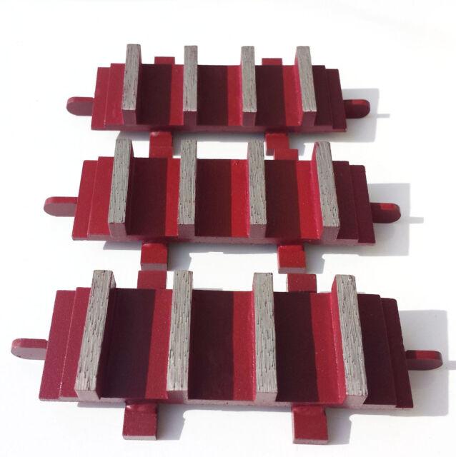 Industrial Grade! New 6PK Diamond Grinding Block Dyma-Sert for EDCO Grinders