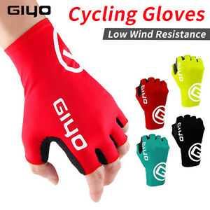 Breaking-Wind-Cycling-Half-Finger-Gloves-Bicycle-Mittens-Racing-Road-Bike-Gloves