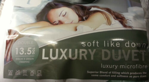 ALL SIZES FEELS LIKE DOWN DUVET SOFT AS DOWN MICROFIBRE QUILT