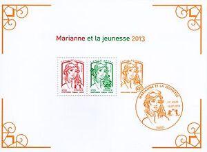 BLOC-FEUILLET-N-133-NEUF-XX-LUXE-MARIANNE-DE-LA-JEUNESSE-DE-2013